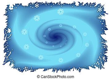 Stock image of Winter Vortex