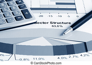 Stock index sector structure