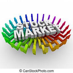 Stock Market - Arrows Rising