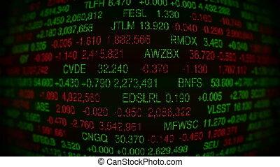 Stock Market Board (Loopable)