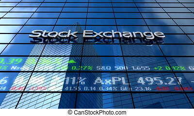 Stock market building