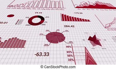 Stock market crashing due to coronovirus covid-19 pandemic outbreak. Concept of financial stagnation, crash, recession, crisis, business crash and economic collapse