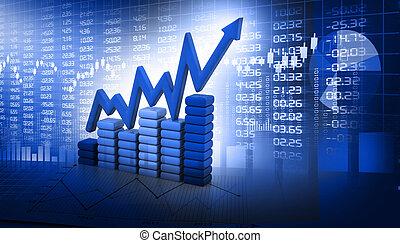 stock market, schaubild