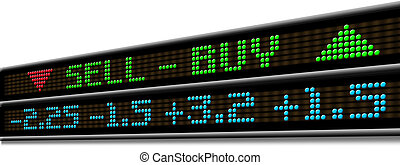 Stock Market ticker - stock Market ticker