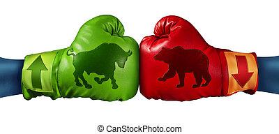 Stock Market Trading - Stock market trading business concept...