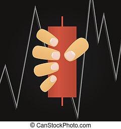 Stock market vector illustration