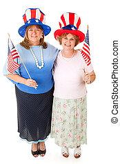 Stock Photo of American Voters