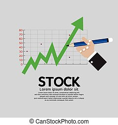 Stock Shares Rise.