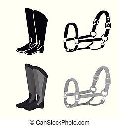 stock., symbole., illustration, équipement, vecteur, ...
