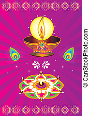 Colorful Indian icon