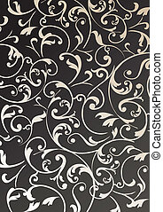 wallpaper vintage background - Stock Vector Illustration:...
