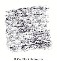 Stock vector texture of burlap. Black print on white background