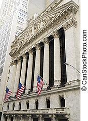 stockage, new-york, échange