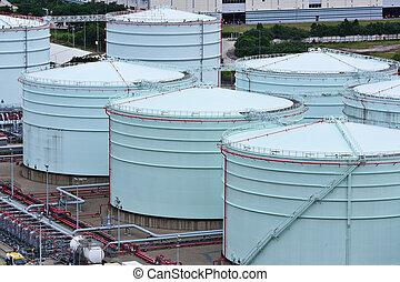 stockage, réservoir pétrole