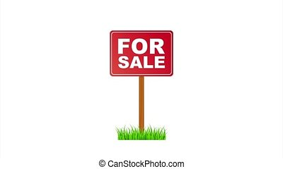 stockage, tag., maison, illustration., design., signe, commercialisation, vente
