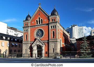 Stockholm. Catholic Cathedral - Stockholm. Sankt Eriks...