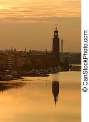 Stockholm City Hall.