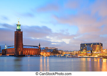 Stockholm City Hall Sweden - Architecture Stockholm City...