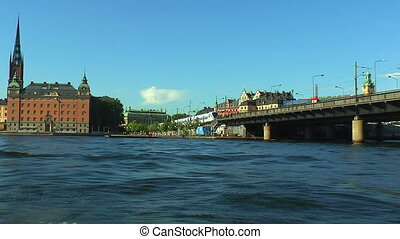 stockholm, mer, croisière