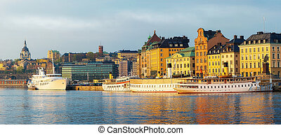 Stockholm Old Town and Slussen