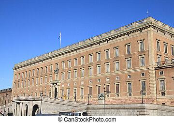 Stockholm Royal Palace - Stockholm, Sweden. Famous Swedish...