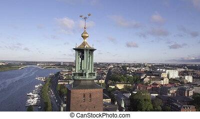stockholm, suède, vue