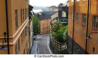 Stockholm, Sweden - Sodermalm district of Stockholm, Sweden