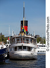 Stockholm water transport. - Stockholm water transport, no...