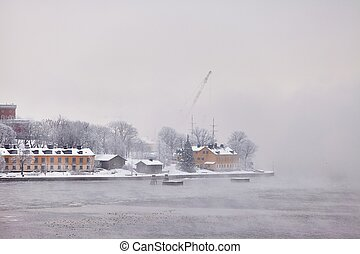 Stockholm Winter Morning
