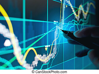 stocks, commerce, actions, ligne