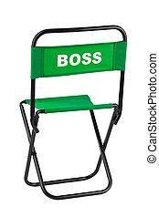 stoel, baas