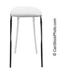 stoel, vrijstaand, op wit