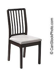 stoel, witte achtergrond
