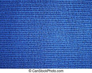 stoff, blaues, beschaffenheit, hintergrund