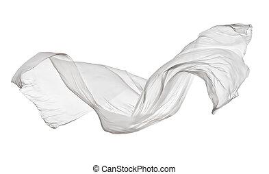 stoffa, bianco, liscio, fondo, elegante