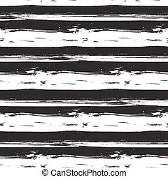stokes, modernos, pattern., seamless, trendy, vetorial, escova, tinta, sujo, linha