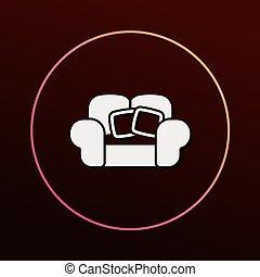 stol, ikon