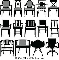 stol, konstruktion
