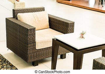 stol, uteplats, däck