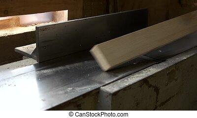 stolarz, drewno, profesjonalny, plank., pracujący