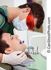 stomatologiczny, badanie