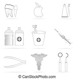 stomatologiczny, ikony