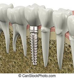 stomatologiczny, wpajać