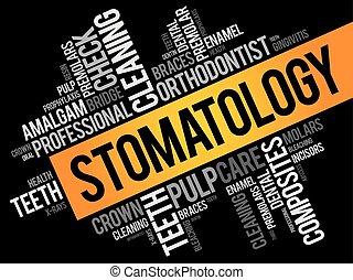 stomatology, glose, sky, collage