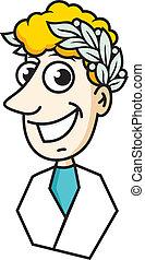 Stomatology logo - professional dental technician sign...