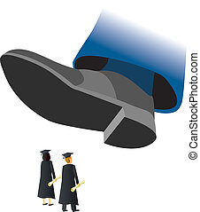 Stomped College Grads