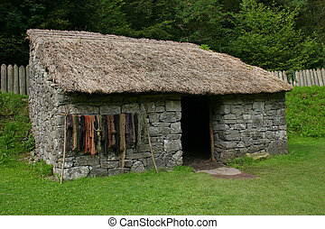Stone Age Cottage - Irish Early Christian stone cottage