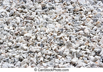 Stone Aggregate - Image of a granite stone aggregate for...