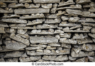 Stone and boulders background