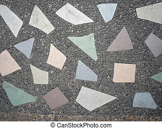 Stone and tile background